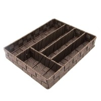 Iranian's  Basket inside the large checkered drawer SK138