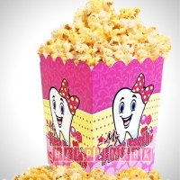 Wholesale buying 10 pcs Dental Dental Popcorn Box Supplier:                                                                                                            happymark