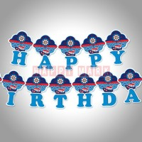 Wholesale buying Happy Birthday Sailor Theme Supplier:                                                                                                            happymark