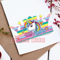 Wholesale buying 6 Numbers Unicorn Crown Theme Supplier:                                                                                                            happymark