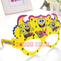 Wholesale buying Pack of 6 Sponge Bob themed glasses Supplier:                                                                                                            happymark