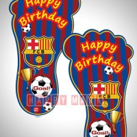 Wholesale buying Pack of 10 Footprints Barcelona Theme Supplier:                                                                                                            happymark