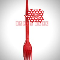 Wholesale buying 12pcs Spotted Red Spotted Theme Forks Supplier:                                                                                                            happymark