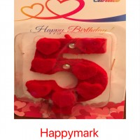 Wholesale buying Candle velvet number Supplier:                                                                                                            happymark