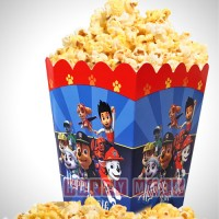 Wholesale buying Pack of 10 Popcorn Container Theme Dog Guardians of Happiness Supplier:                                                                                                            happymark