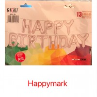 Wholesale buying Foil balloon happy birthday Supplier:                                                                                                            happymark