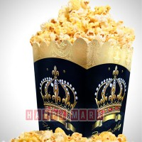Wholesale buying Pack of 10 popcorn box crown theme Supplier:                                                                                                            happymark