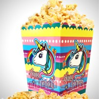 Wholesale buying Pack of 10 Unicorn Unicorn Popcorn Dishes Supplier:                                                                                                            happymark