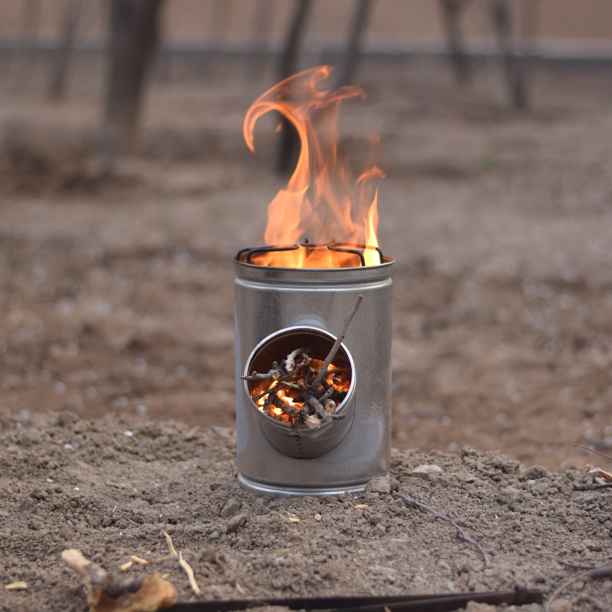 image number  5 products  Atlas travel wood stove