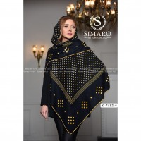 Iranian's  Fall-fashioned scarf 140 round hands K 7412 6