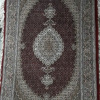 Iranian's  Zarrinim Abdollahi carpet
