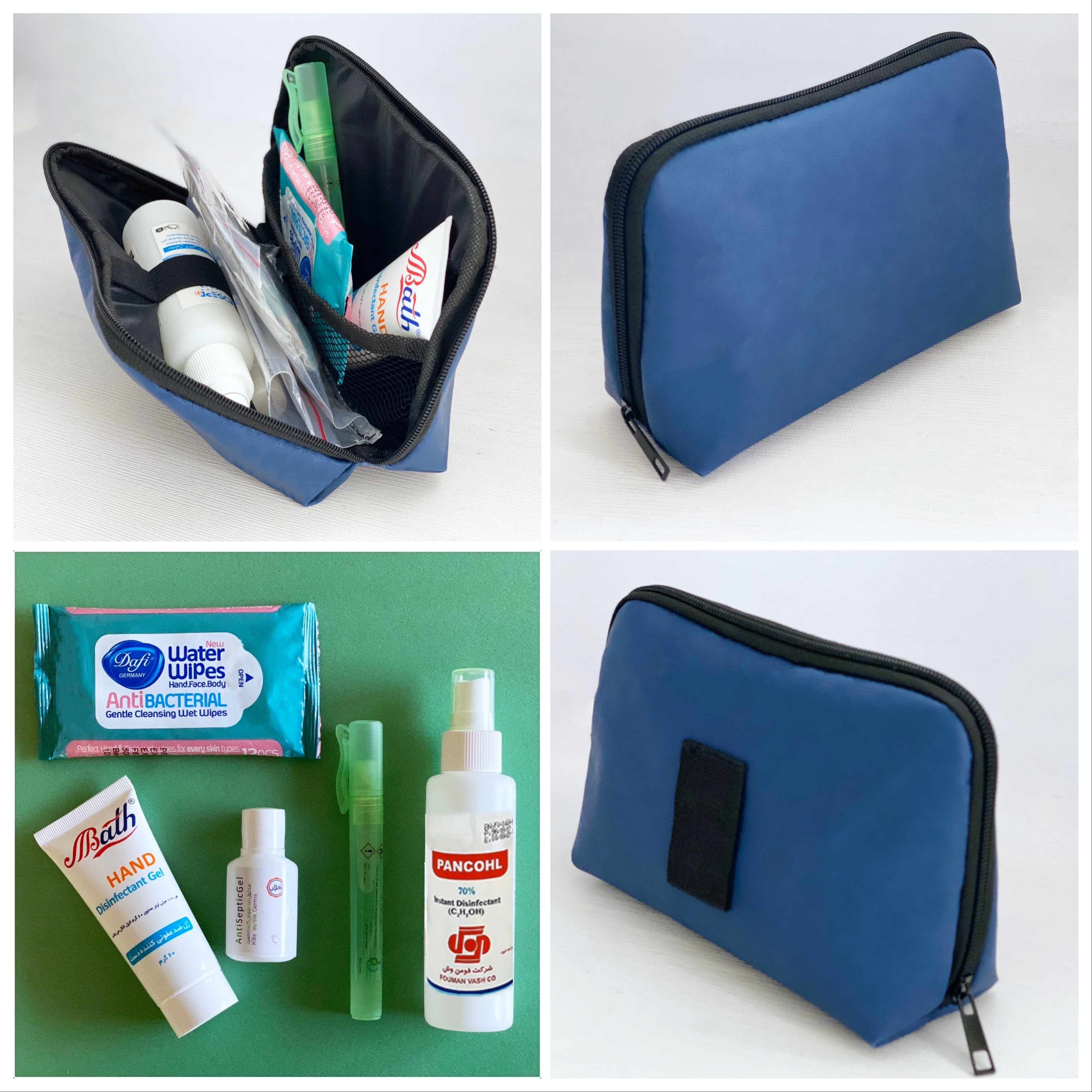products  Spray sanitary ware and storage bag and disinfectant gel bag