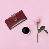 Iranian's Women's Natural Leather Wallet Code 462