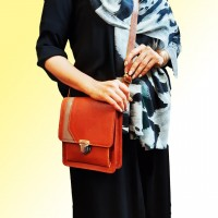 image number  3 products  Natural leather bag code 648
