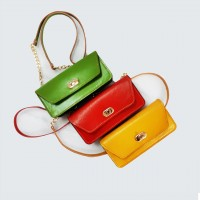 Iranian's Natural Leather Bag Code 665
