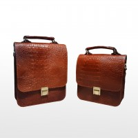image number  4 products  Office Bag and Natural Leather Code 667