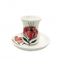 Iranian's  Anemone cup and saucer set