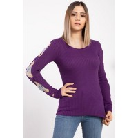Wholesale buying Purple women's knitwear, in 9 different colors Supplier:                                                                                                            Meditarrane