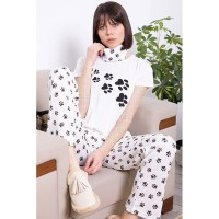 Wholesale buying Comfort set, white T-shirt and pants, cotton, in three colors Supplier:                                                                                                            Meditarrane