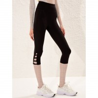Wholesale buying LC women's support and leg, slotted black Supplier:                                                                                                            Meditarrane