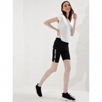 Wholesale buying LC women's support and leg, short patterned black Supplier:                                                                                                            Meditarrane