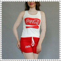 Iranian's  Top Coca Cola shorts