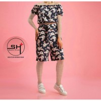 Wholesale buying Two pieces of T-shirt and shorts, slippers and collar Supplier:                                                                                                            shikanarli