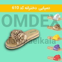 Iranian's  Violet design girls' slippers