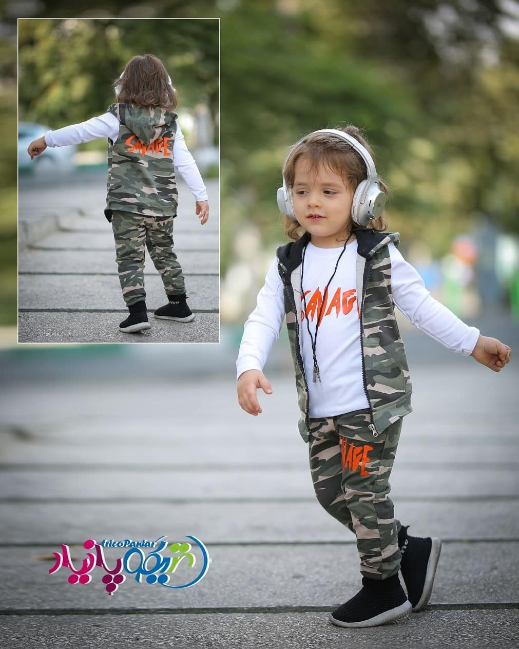 image number  2 products  Jila and army pants
