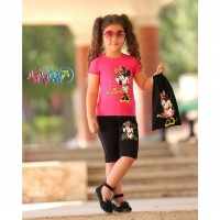 Iranian's  Mickey Mouse Tops and Shorts