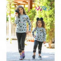 Iranian's  Spotted blouse and pants