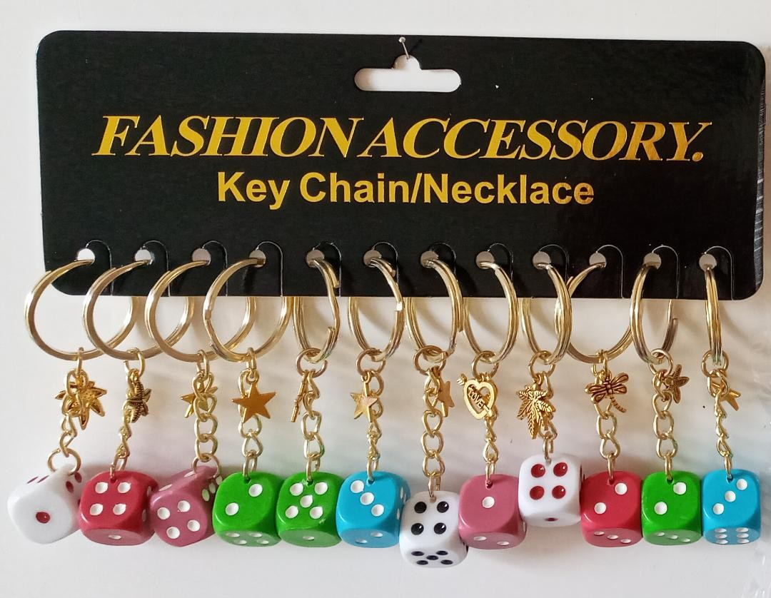 products  Keychain with dice