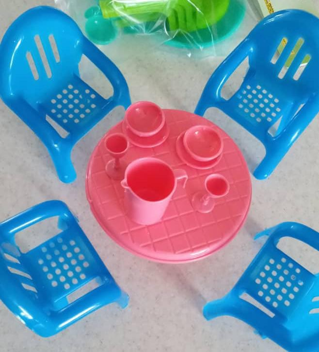 products  Toy chair table